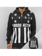 Brooklyn Zip Hoody Black...