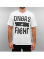 Dangerous DNGRS Fight T-Shirt White