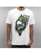 Dangerous DNGRS Camiseta Content Under Pressure blanco