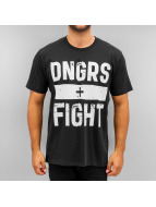 Dangerous DNGRS Camiseta Fight negro