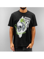Dangerous DNGRS Camiseta Content Under Pressure negro