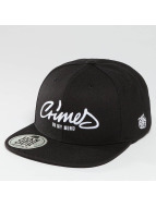 Crimes Snapback Cap Blac...
