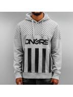 Dangerous DNGRS Felpa con cappuccio Blocks grigio