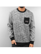 Gangster Sweatshirt Grey...