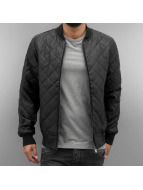 Dangerous DNGRS Giacca in pelle Quilted II nero