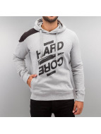 Hardcore Hoody Grey Mela...