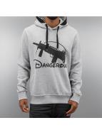 Dangerous DNGRS Hoodie World Uzi grå