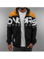 Dangerous DNGRS Hoodies con zip Big Logo nero