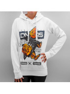 Dangerous DNGRS Hoodies Creepy Animals hvid
