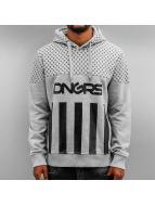 Dangerous DNGRS Hoody Blocks grau