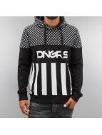Dangerous DNGRS Hoody Blocks schwarz