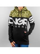 Dangerous DNGRS Hoody Big Logo schwarz