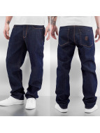 Dangerous DNGRS Jeans baggy Destroyed Classic blu