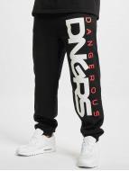 Dangerous DNGRS Jogging kalhoty Classic čern