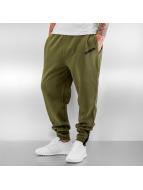Dangerous DNGRS Jogging pantolonları Basic zeytin yeşili