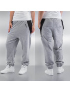 Dangerous DNGRS joggingbroek Zip grijs