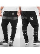 Dangerous DNGRS joggingbroek White Star zwart