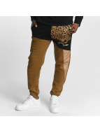 Dangerous DNGRS Alpha DMARK Sweatpants Brown