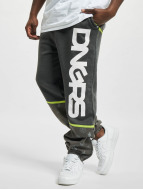 Dangerous DNGRS Jogginghose Crosshair grau