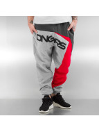 Dangerous DNGRS Jogginghose Race City grau