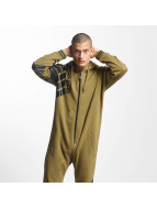 Dangerous DNGRS Statement Jumpsuit Olive