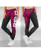 Dangerous DNGRS Leggings Girls And Guns noir