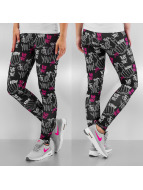Dangerous DNGRS Leggings F**K You noir