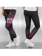 Dangerous DNGRS Leggings Hungry Eyes noir