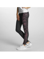 Dangerous DNGRS Leggings/Treggings Flourish czarny
