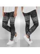 Dangerous DNGRS Leggings/Treggings Paisley svart