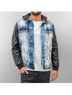 Dangerous DNGRS Lightweight Jacket PU Sleeves blue