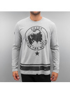 Dangerous DNGRS Longsleeve Rule The World gray