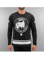 Dangerous DNGRS Longsleeve Rule The World zwart