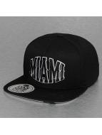 Miami Snapback Cap Black...