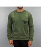 Military Sweatshirt Capu...