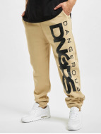 Dangerous DNGRS Pantalón deportivo Classic beis