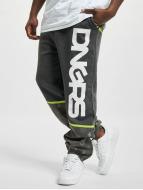 Dangerous DNGRS Pantalone ginnico Crosshair grigio