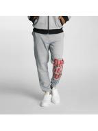 Dangerous DNGRS Pantalone ginnico *B-Ware* Skeletonis grigio