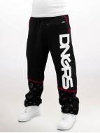 Dangerous DNGRS Pantalone ginnico Crosshair Sweat Pants nero