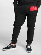 Dangerous DNGRS Pantalone ginnico Rising nero