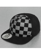 Plaid Snapback Cap Black...