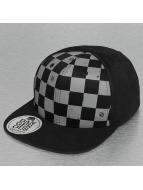 Plaid Snapback Cap Black...