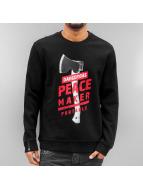 Dangerous DNGRS Pullover PeaceMaker noir