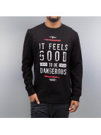Dangerous DNGRS Pullover It Feels Good schwarz