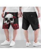 Dangerous DNGRS Shorts Skull schwarz