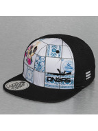 Dangerous DNGRS Snapback Cap Skull black