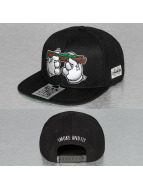 Dangerous DNGRS snapback cap Smoke And Fly zwart