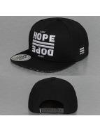 Dangerous DNGRS snapback cap Last Hope Good Dope zwart