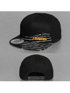 Dangerous DNGRS snapback cap Stripes zwart