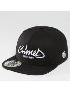 Dangerous DNGRS snapback cap Crimes zwart